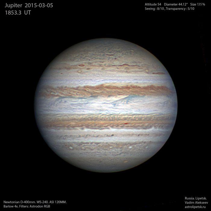 Юпитер 2014.03.05